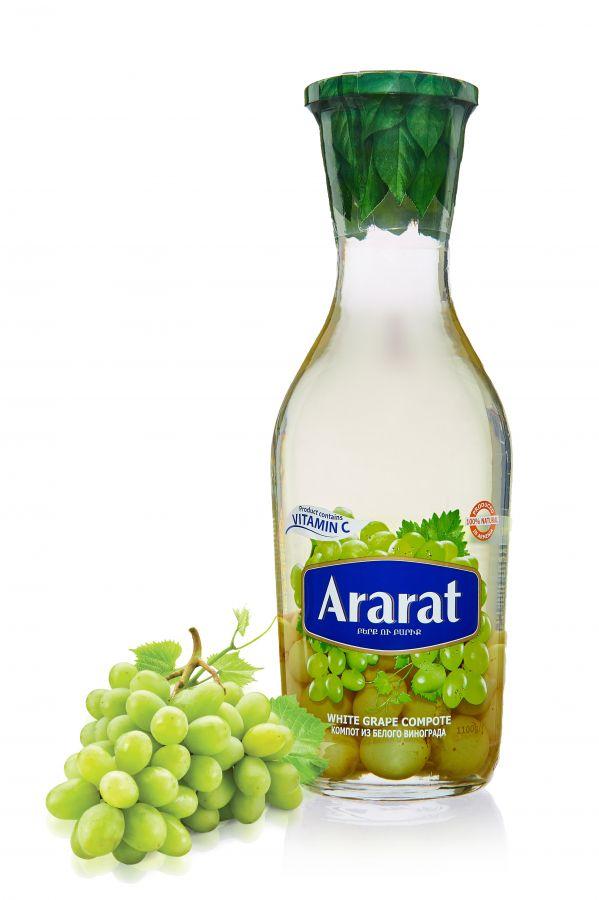 """Компот из белого винограда """"ARARAT"""" 1,0л ст/б"""