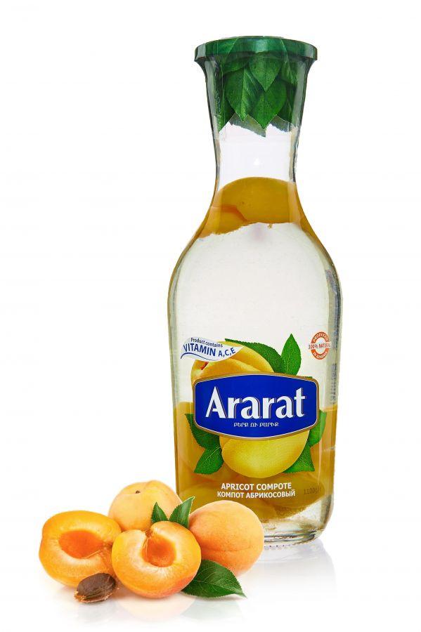 """Компот абрикосовый """"ARARAT"""" 1,0л ст/б"""