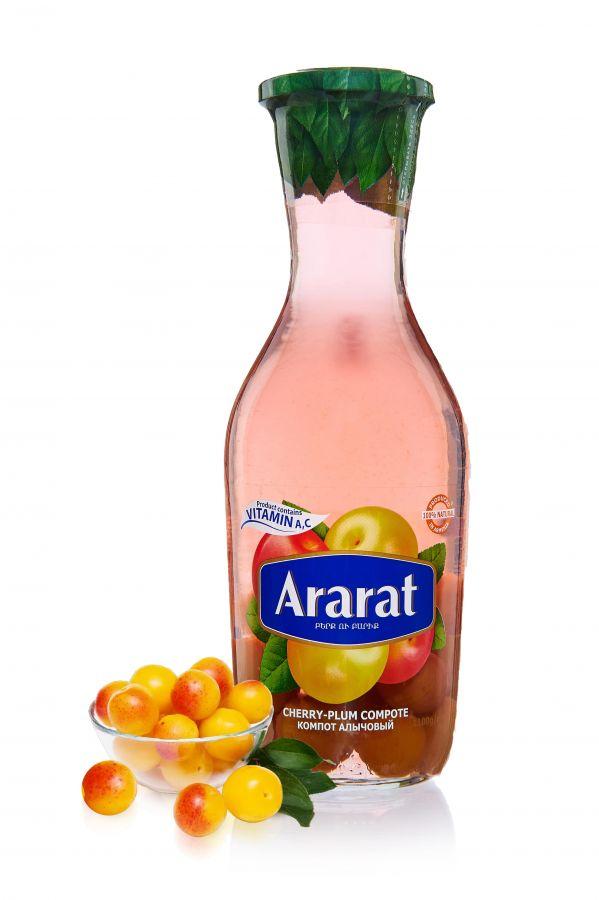 """Компот из алычи """"ARARAT"""" 1,0л ст/б"""
