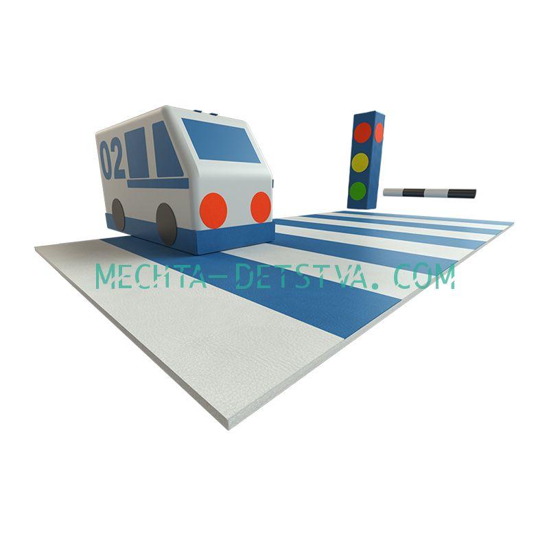 Игровой набор «Грамотный пешеход» ДМФ-МК-08.96.03