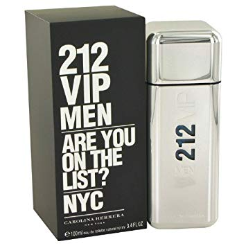 CAROLINA HERRERA CH 212 VIP men 100 ml