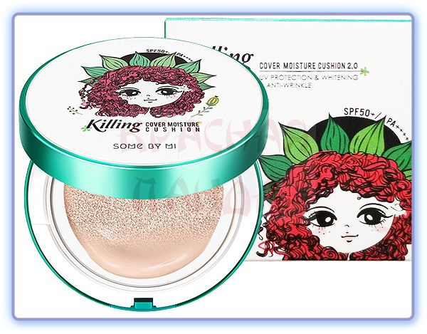 Кушон для проблемной кожи Some By Mi Killing cover Moisture Cushion (тон 21)