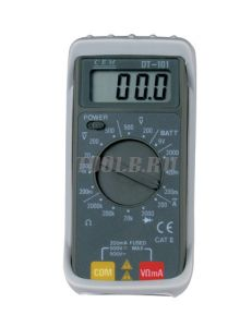 CEM DT-101 мультиметр цифровой