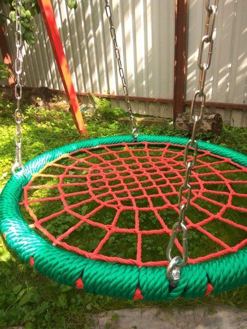 Качели гнездо ХИТ 100 см на цепях