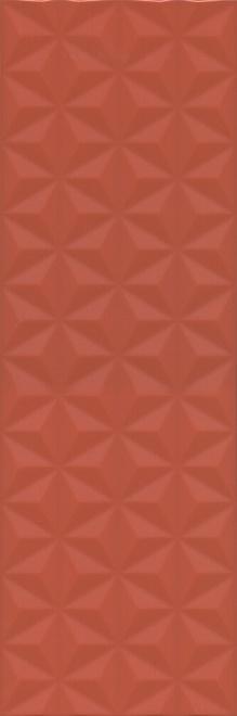 12120R | Диагональ красный структура обрезной