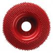 Диск шлифовальный Merlin 2 D 50 мм полукгруглый красный Coarse 10009 М00012281