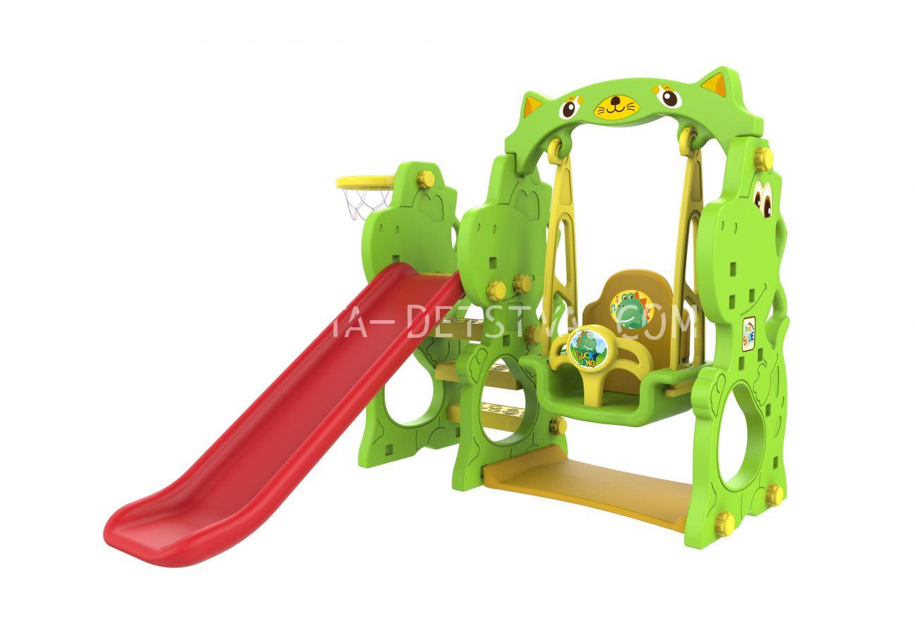 """Toy Monarch Игровой комплекс """"Дино"""" с качелями CHD-171"""