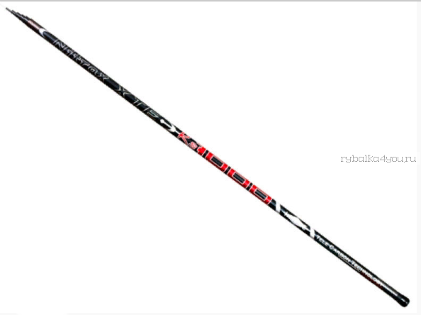 Удилище без колец Mifine Nitrax XTE-RS Pole Carbon 600 см / арт 1040-600