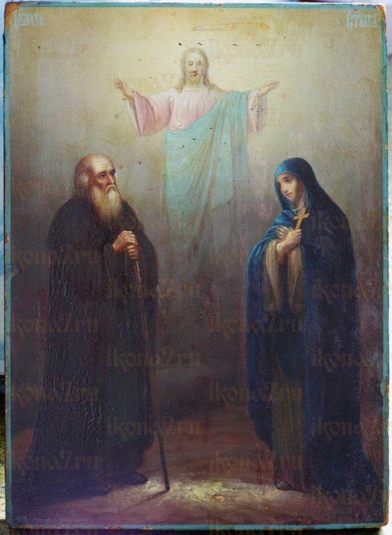 Икона Михаил Клопский преподобный