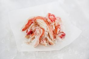 Салатное мясо краба с/м (Россия)