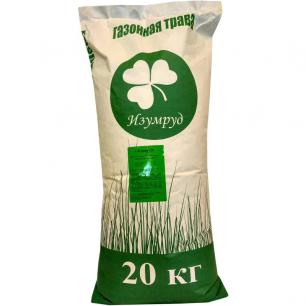 Смесь семян для газона Изумруд Городской озеленитель, 20 кг - все для сада, дома и огорода!