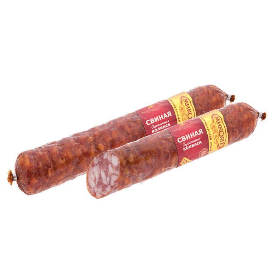 Колбаса свиная МИКОЯН , вес~0,6-0,7кг