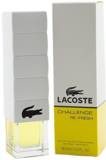 LACOSTE CHALLENGE Re-fresh (т) м 90 ml