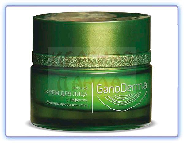 Ночной крем для лица GanoDerma с эффектом биоармирования кожи