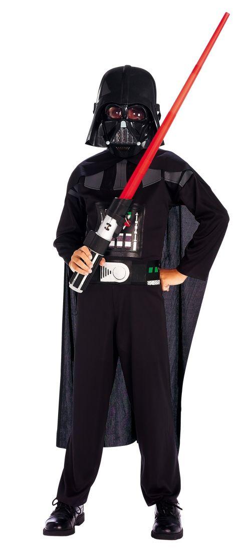 Взрослый костюм черного Дарта Вейдера