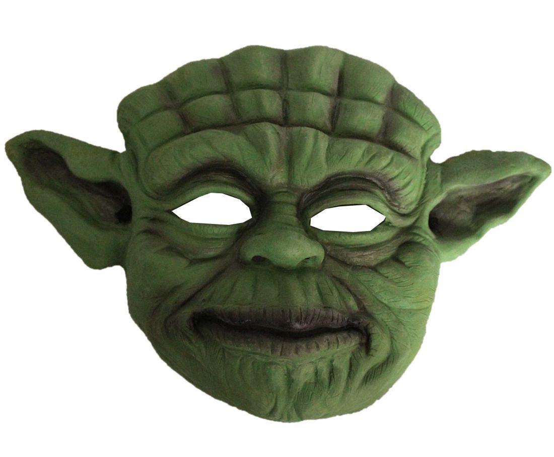 Детская маска Йоды