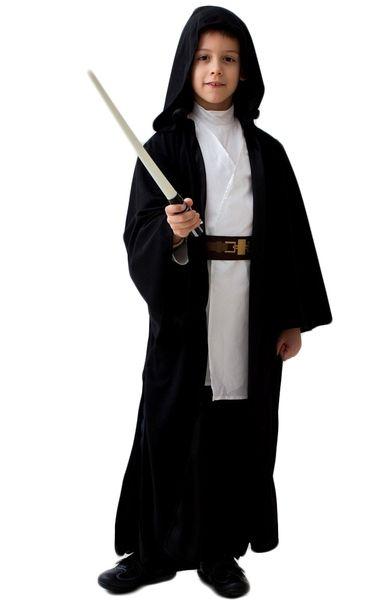 Детский черный костюм Джедая