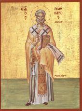 Икона Поликарп Смирнский священномученик