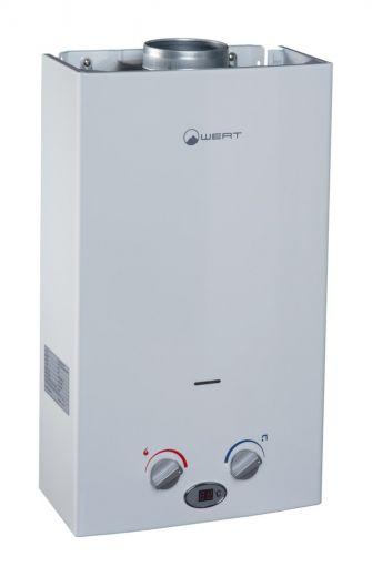 Автоматический газовый водонагреватель Wert 10LC White