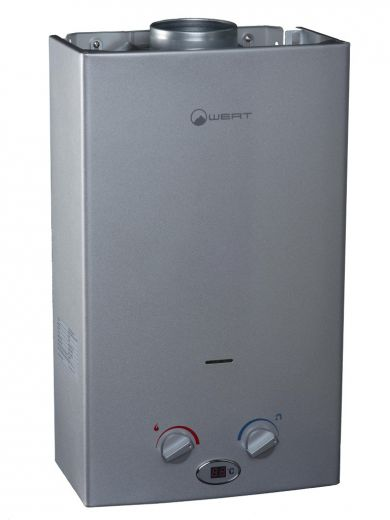 Автоматический газовый водонагреватель Wert 10LC Silver