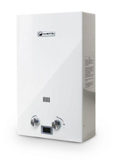 Автоматический газовый водонагреватель Wert 12E White