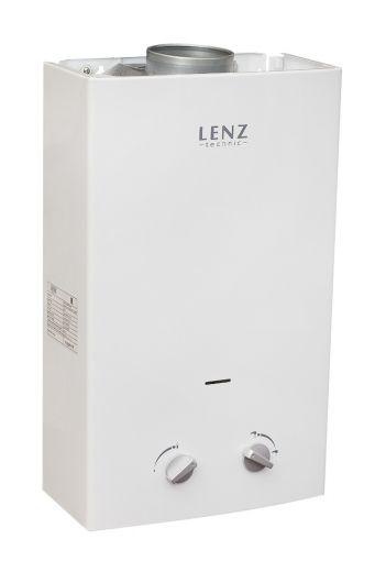 Автоматический газовый водонагреватель Lenz Technic 10L