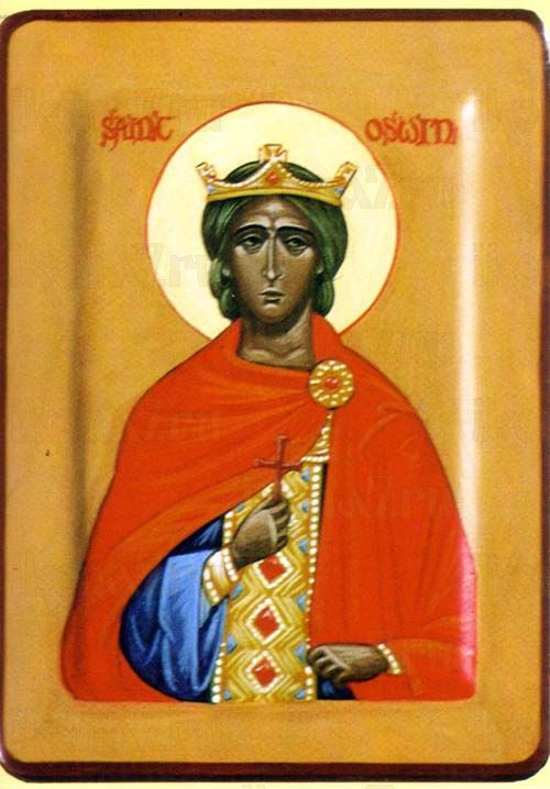 Икона Освин Нортумбрийский мученик