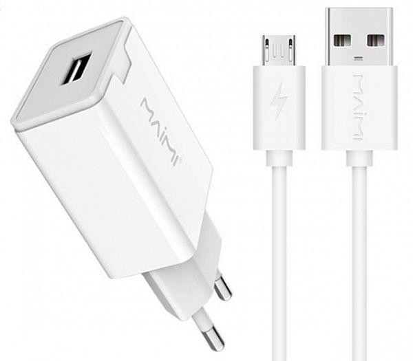Зарядное устройство с USB MAIMi T7 Micro USB (2400mA,5V)