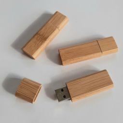 флешки из бамбука с логотипом