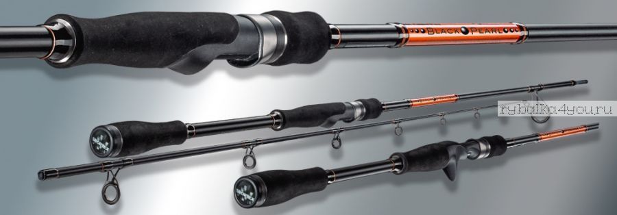 Удилище спиннинговое Sportex Black Pearl BR 2111. 2.10 м. 15-29 g