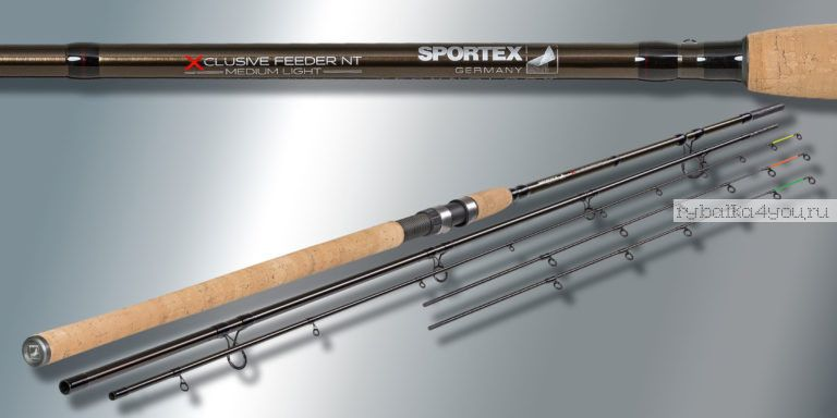 Удилище фидерное Sportex Xclusive Feeder NT Medium MF4216 4.20 м 90-160 гр