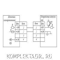 Схема подключения УЗА-2МК06