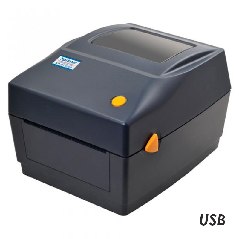 Принтер этикеток  Xprinter XP-460B (USB) черный