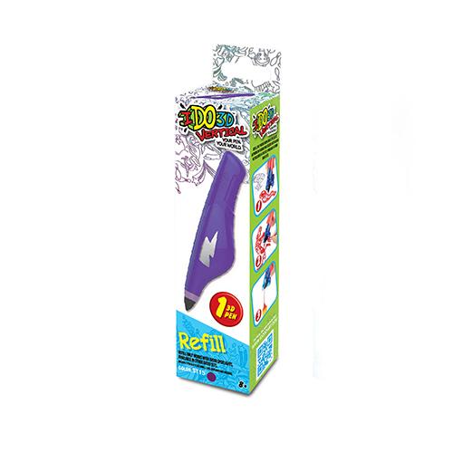Набор для объёмного рисования I Do 3D Vertical, 1 ручка: цвет-фиолетовый.