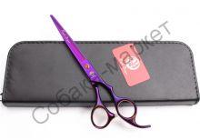 Ножницы прямые 7 дюймов Purple Dragon с антистатическим покрытием