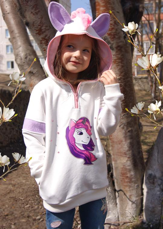 Детское худи Единорог