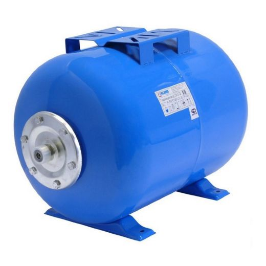 Гидроаккумулятор 50CT2 синий, горизонтальный