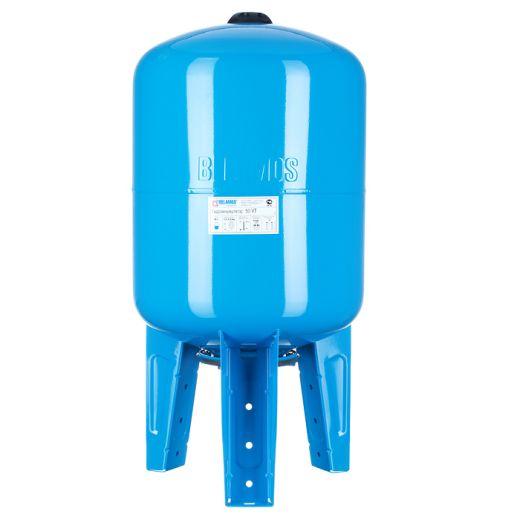 Гидроаккумулятор 50VT синий, вертикальный