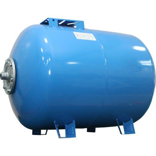 Гидроаккумулятор 80CT2 синий, горизонтальный