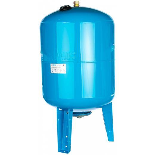 Гидроаккумулятор 100VT синий, вертикальный