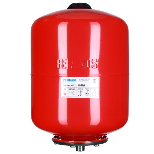 Расширительный бак 19RW красный, подвесной
