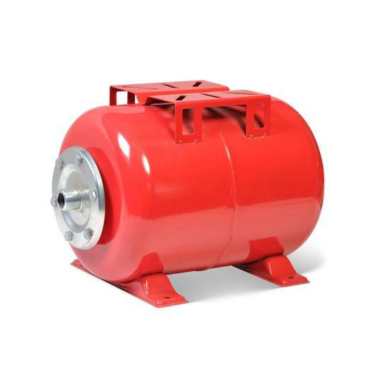 Расширительный бак 24HW красный, горизонтальный