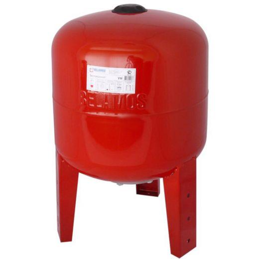 Расширительный бак 50VW красный, вертикальный