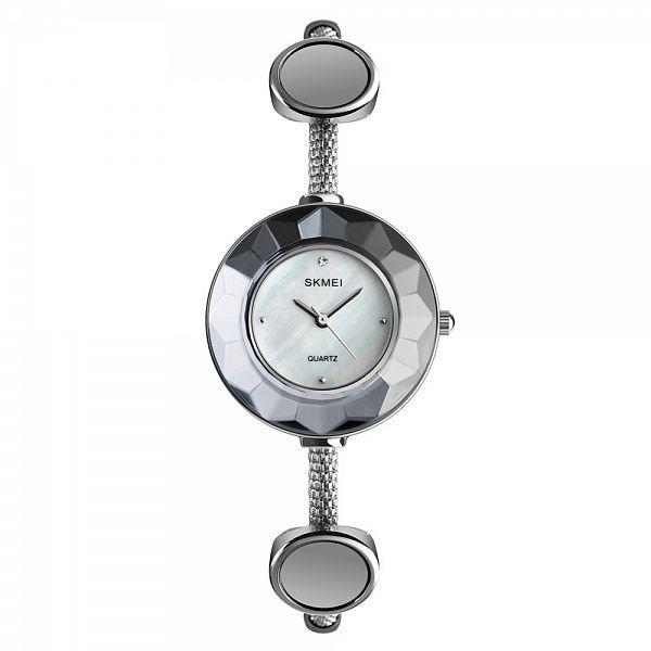 Часы наручные Skmei 1406 серебро