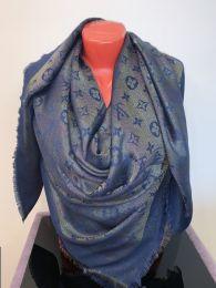 Платок синий с люрексом Louis Vuitton, арт. 024