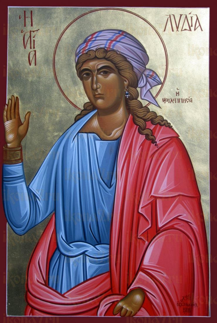 Икона Лидия Иллирийская мученица