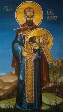 Икона Лазарь Сербский благоверный князь