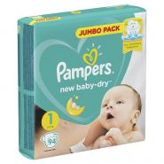 Pampers New Baby-Dry 2-5кг 94шт (1)