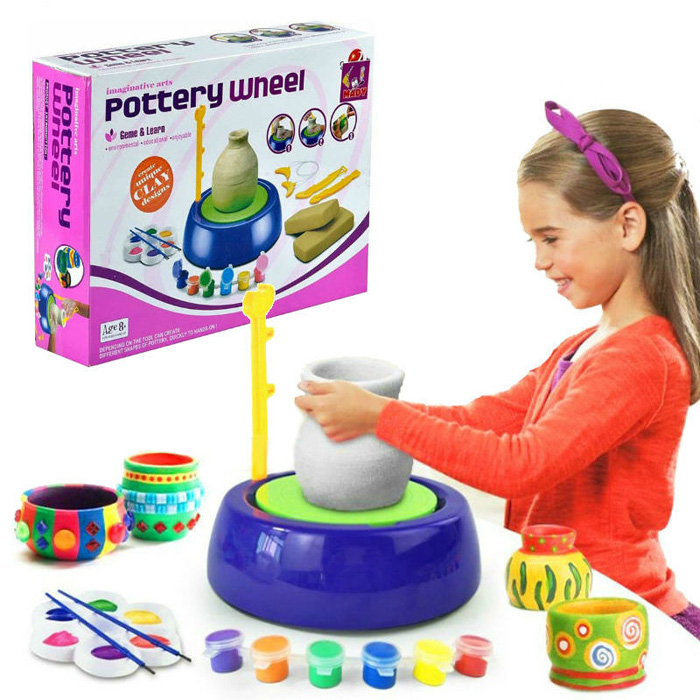 Детский гончарный круг Pottery Wheel, Цвет Фиолетовый