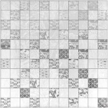 Mosaic Silver Vesta